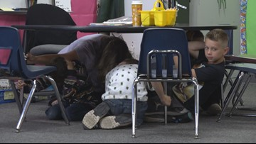 Vacaville students among millions participating in 2019 'Shake Out'