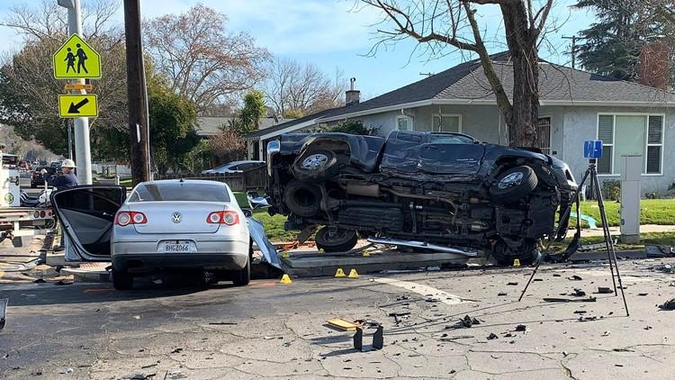 Modesto car crash