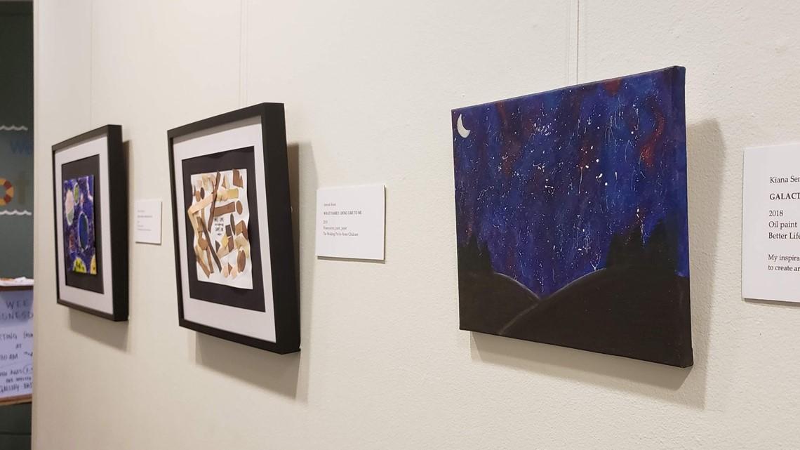 Sacramento foster care agency brings children's art to the Crocker Art Museum
