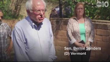 Sen. Bernie Sanders visits Paradise, announces $16.3 trillion climate plan | Extended