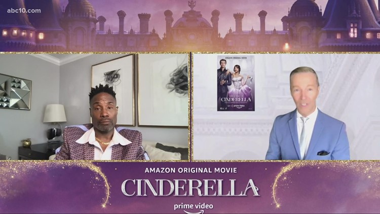Mark S. Allen chats with 'Cinderella' actor Billy Porter about his trailblazing career
