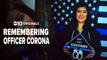 He helped her earn her badge: How a teacher remembers slain officer Natalie Corona