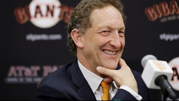 Video shows Giants CEO Larry Baer in altercation with wife