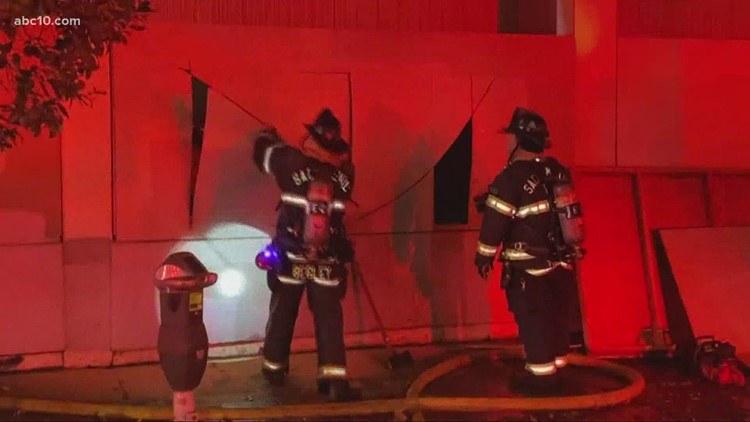 Firefighters knock down 3 alarm fire in downtown Sacramento