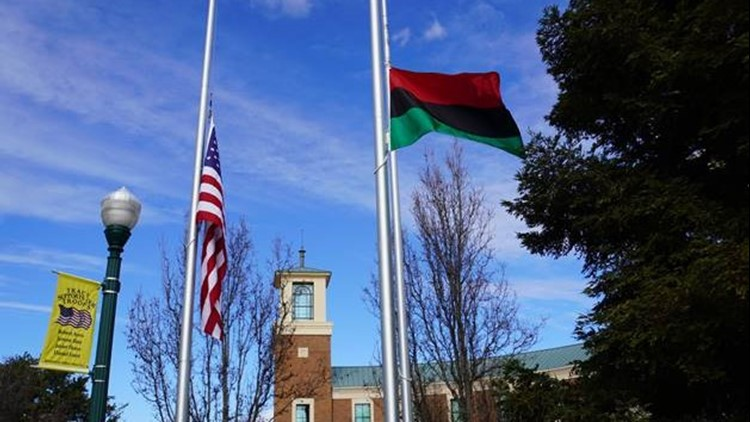 City of Tracy flies Pan-African flag for 1st time