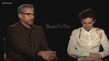 'Beautiful Boy' Interview: Timothée Chalamet and Steve Carell