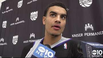 Justin James talks about first NBA experience with Sacramento Kings