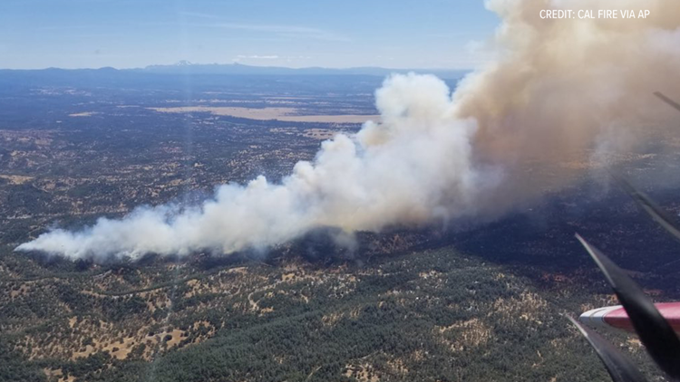 Containment increased on Shasta County's Mountain Fire