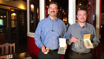 Managers at Arden Old Spaghetti Factory want help finding owner of lost military medals