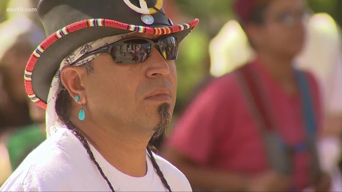 Sacramento tribal chairman reacts to recognition of Indigenous Peoples' Day