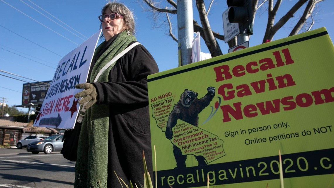 How California's recall rules could spell trouble for Gavin Newsom