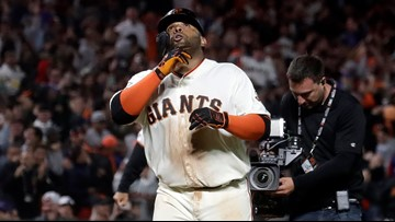 Pablo Sandoval homer in the 13th lifts Giants past Cubs 5-4