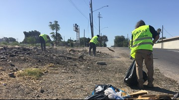 Cleaning up the city, cleaning up lives: New homeless clean-up program underway in Stockton