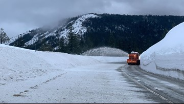 CHP Gold Run shows dangers of I-80 with mix of rain, snow