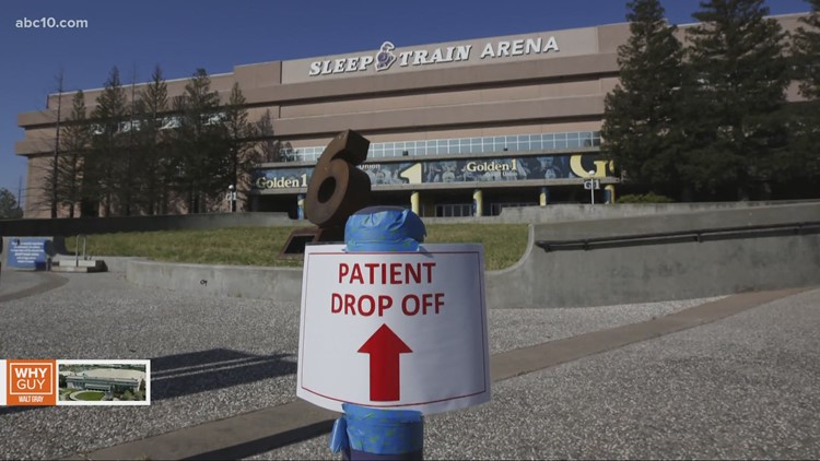 Why is the number of occupied beds in old Arco Arena so hard to find?   Why Guy