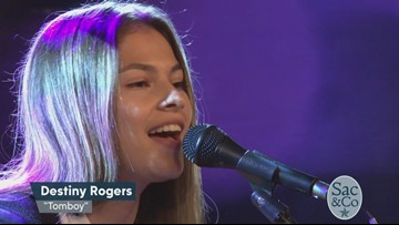 Catch Destiny Rogers' First Live TV Performance on Sac&Co!
