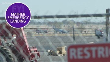 More people are leaving California, emergency landing at Mather Air Force Base | FYI