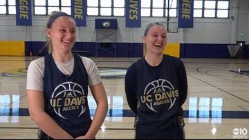 Sports Standout: UC Davis twin basketball stars Karley and Kourtney Eaton