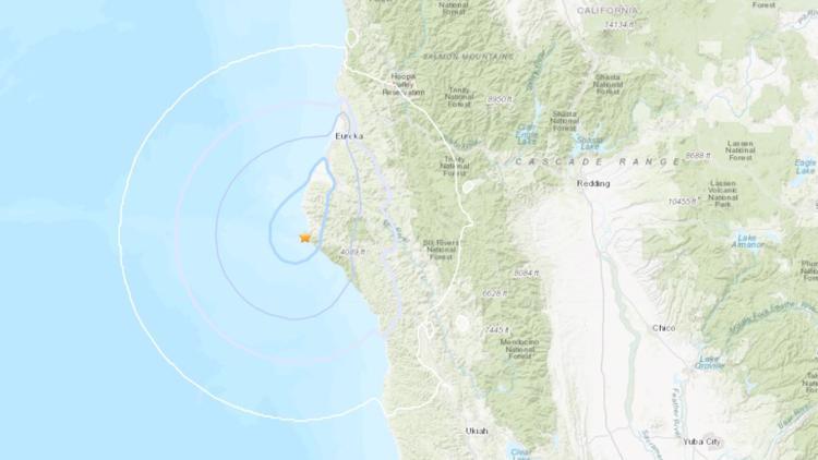 4.5 magnitude earthquake hits near Eureka Thursday afternoon