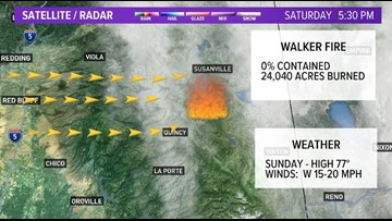 Wildfire update for active fires in Northern California ... on current california earthquake map, current california highways map, current california drought map,
