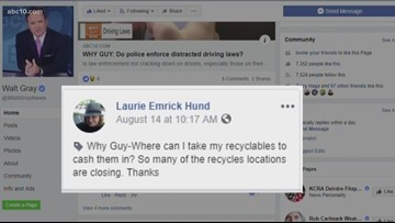 Where can I take my recyclables to cash them in? | Why Guy