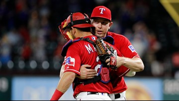 Rookie CG for Rangers wraps up doubleheader sweep over A's