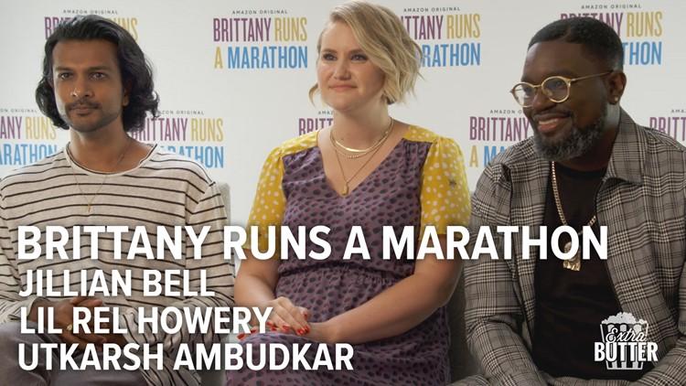 Brittany Runs A Marathon Interview: Jillian Bell, Lil Rel Howery & Utkarsh Ambudkar | Extra Butter