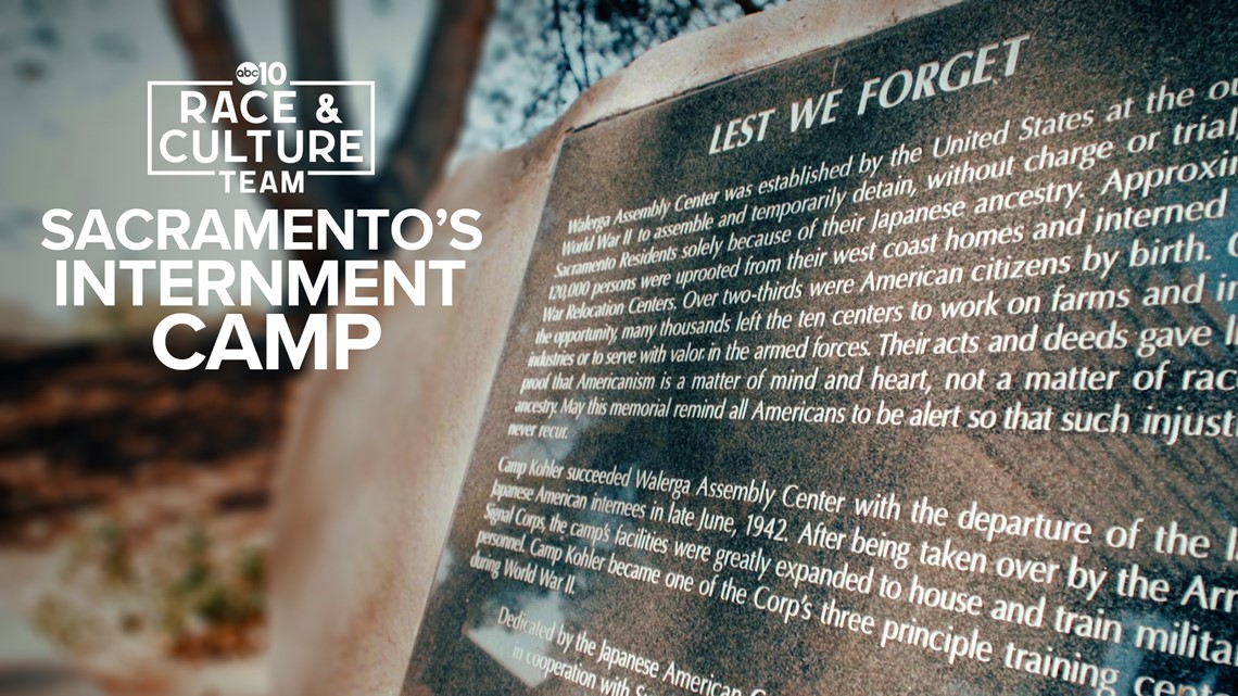 'Lest we forget': A look back at Sacramento's internment camp