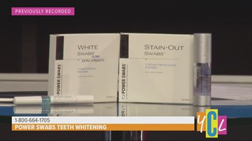 Brighten your Smile this Year with Power Swabs