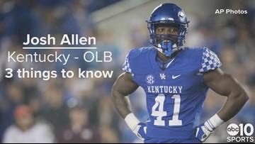 OLB, Josh Allen – Jacksonville Jaguars – No. 7 pick | Need to know