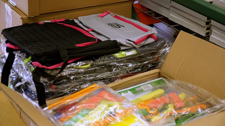 Twin Rivers Unified School District works to close school-supply gap