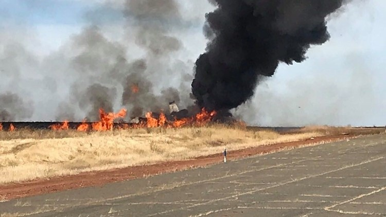 10 people survive fiery plane crash at Oroville Municipal Airport