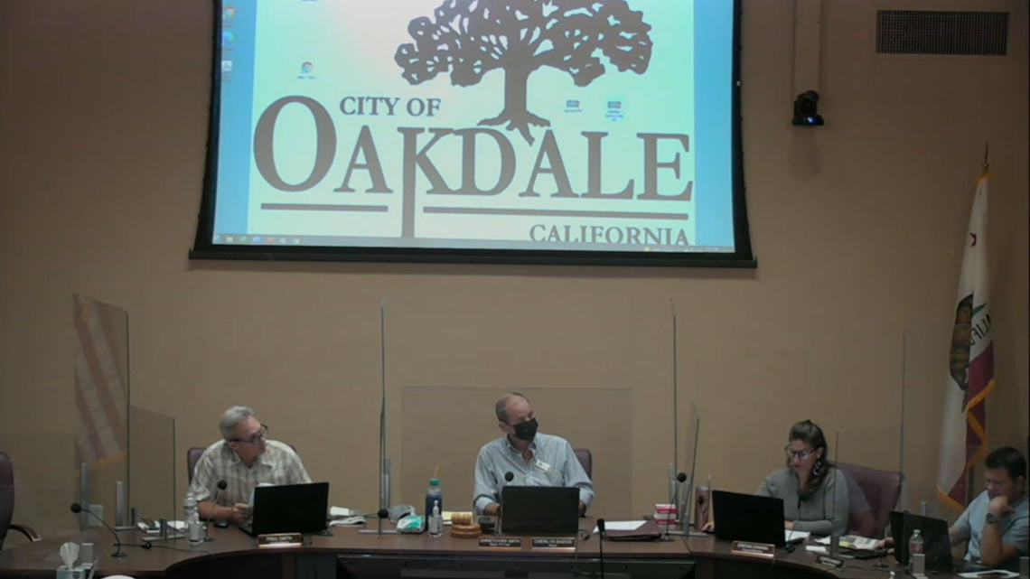 Three Oakdale city Councilmembers openly defy Stanislaus County mask mandates
