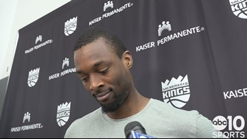 Harrison Barnes likes what he sees from Kings starters after first preseason win
