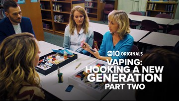 How one Sacramento school is working to stop teens from vaping