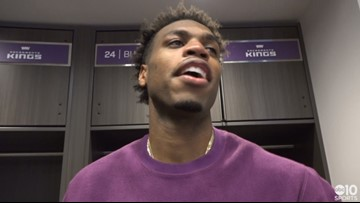 Buddy Hield takes blame in defensive mishap in Warriors win over Kings