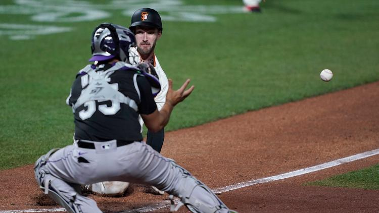 Giants lose 5-4 to Rockies, miss chance in NL wild-card race