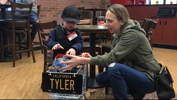 Bel Air in Elk Grove honors boy diagnosed with inoperable brain tumor