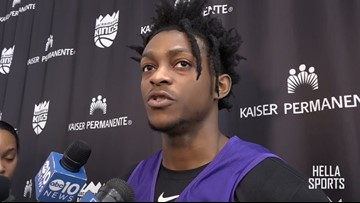 Kings PG De'Aaron Fox previews Mavericks, impressed with Luke Doncic