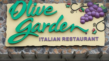 Elk Grove's new Olive Garden might open in spring. New Buffalo Wild Wings not far behind.