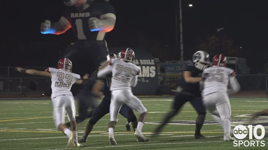 Oakland Gas Prices >> Casa Roble Rams roll Patterson Tigers in Sac-Joaquin Section Playoffs | HIGHLIGHTS | abc10.com