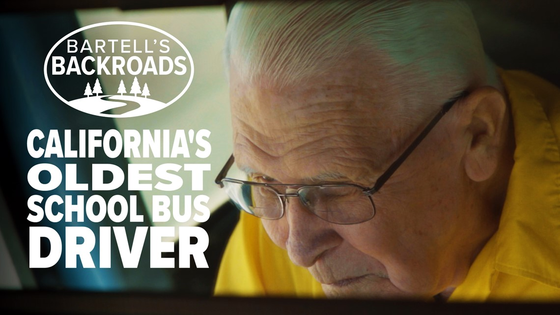 90 years old and still driving the school bus   Bartell's Backroads