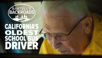 90 years old and still driving the school bus | Bartell's Backroads