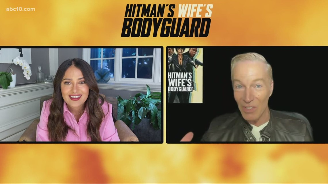 Selma Hayek shares experience working on 'Hitman's Wife's Bodyguard'