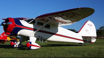 History of the single-engine Stinson Vultee V-77, the plane that crashed in Auburn