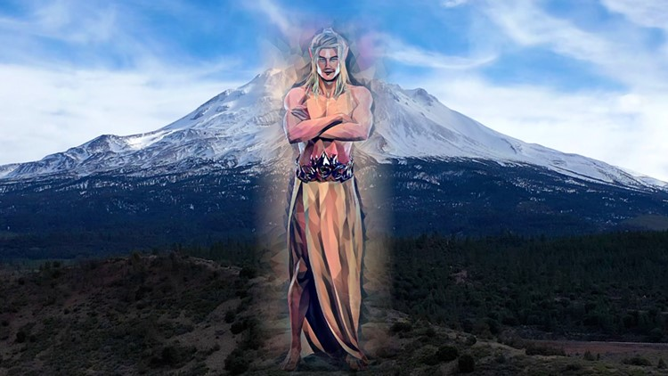The history of the mythical Lemurian city at the Sacramento River headwaters at Mount Shasta   Bartell's Backroads