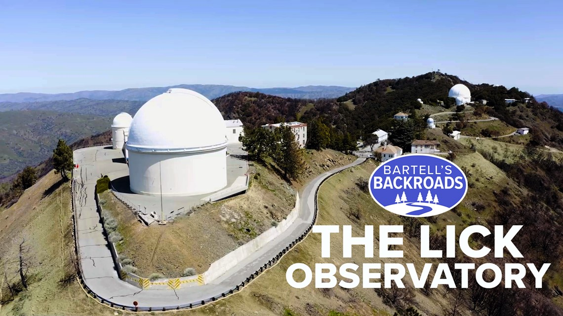 The start of Silicon Valley's tech boom was 1888's Lick Observatory | Bartell's Backroads