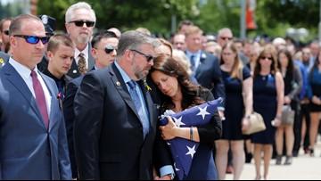 Sacramento police, community mourn slain Officer Tara O'Sullivan