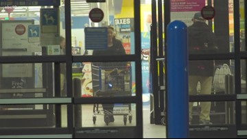 Do you have to check your bag at Walmart before shopping? | VERIFY