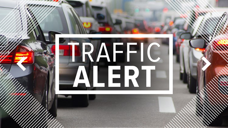 Part of Highway 132 in Tracy closed due to semi-truck on fire